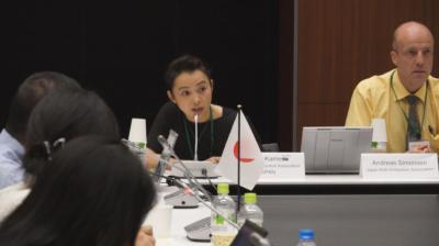 化粧品規制協力国際会議での訴え